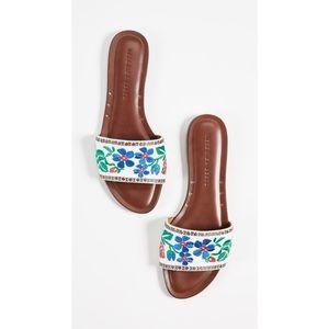 NEW Veronica Beard x Shopbop Frida Linen Sandals